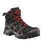 HAIX Black Eagle Safety 40.1 mid Sicherheitshalbstiefel schwarz/rot